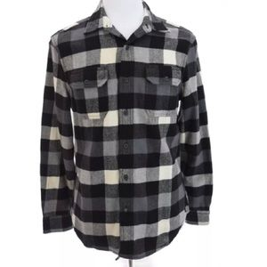 Heritage Flannel American Eagle Button Up  Sz M